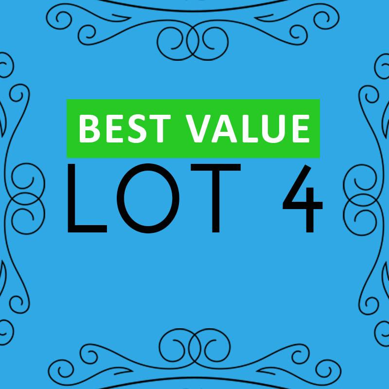 Lot 4 - Best Value