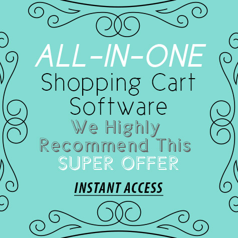 All-In-One Shopping Cart 3 months FREE