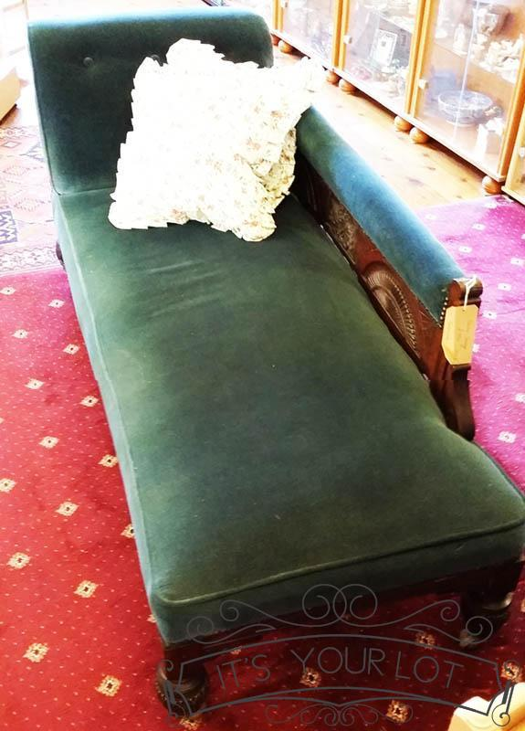 Antique Chaise Lounger