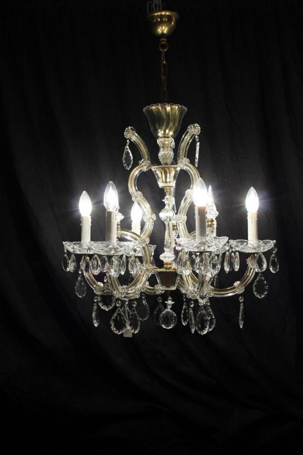 Harriette – A Classic Marie Therese Vintage French Chandelier