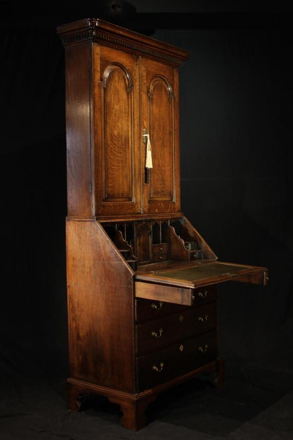 Georgian Bureau Bookcase (Gil:0417)