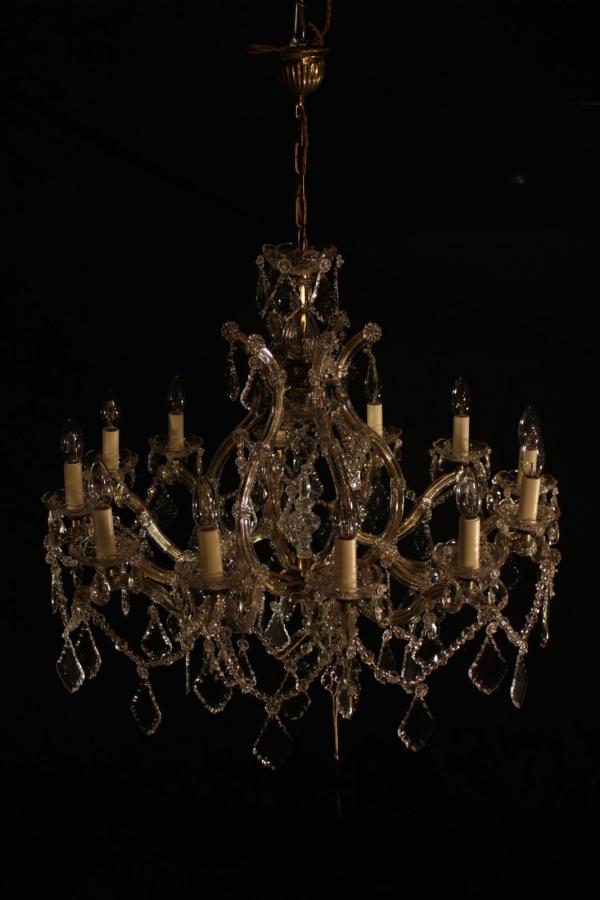 12 lamp Marie Therese Chandelier – Gil 0514