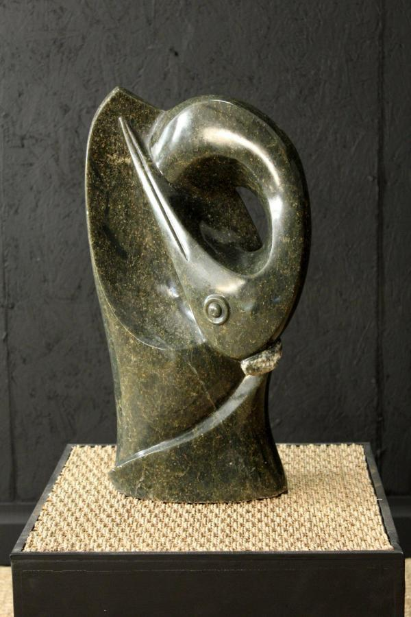 Cosmos Muchenje Original Bird Sculpture