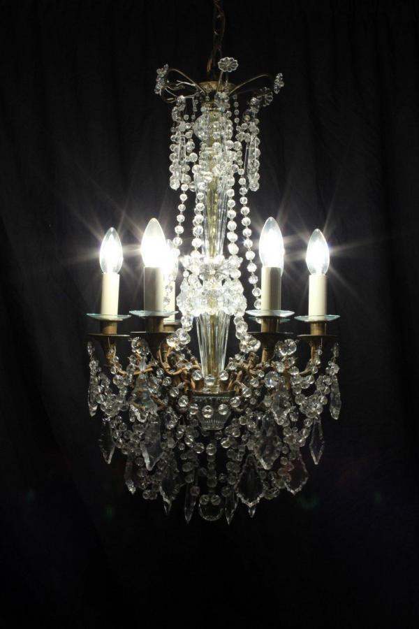 Josephine – A Beautifully Detailed Antique French Chandelier