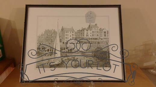 Bridlington Harbour Print