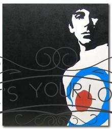 Keith Moon Painting