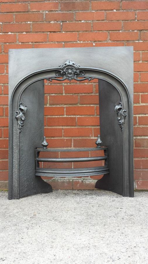 STUNNING ORIGINAL LARGE LATE GEORGIAN REGENCY HOB GRATE.