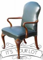 Georgian Antique Style Desk Chair-armchairs-georgian-antique-style-desk-chair-11-thumb