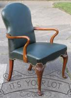 Georgian Antique Style Desk Chair-armchairs-georgian-antique-style-desk-chair-31-thumb