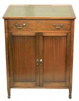 Edwardian Antique Mahogany Clerks Desk-desks-edwardian-antique-mahogany-clerks-desk-1-thumb