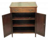 Edwardian Antique Mahogany Clerks Desk-desks-edwardian-antique-mahogany-clerks-desk-2-thumb