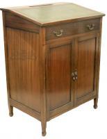 Edwardian Antique Mahogany Clerks Desk-desks-edwardian-antique-mahogany-clerks-desk-3-thumb