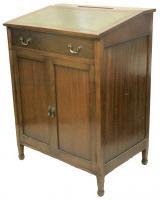 Edwardian Antique Mahogany Clerks Desk-desks-edwardian-antique-mahogany-clerks-desk-4-thumb