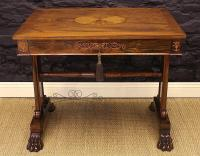 George Bullock Style Regency Rosewood Library Table Circa 1815-george-bullock-rosewood-library-table-3-thumb