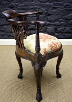 Georgian Mahogany Corner Chair-georgian-mahogany-corner-chair-2-thumb
