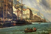 Port of Genoa – CHARLES EUPHRASIE KUWASSEG (1833–1904)-img_4682-1600x1067-thumb