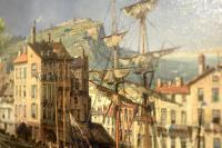 Port of Genoa – CHARLES EUPHRASIE KUWASSEG (1833–1904)-img_4688-1600x1067-thumb
