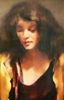 "R.O. Lenkiewicz – ""Study / Karen on the studio floor"" – original oil on canvas-lenkiewicz-karen-headshot-1036x1600-thumb"
