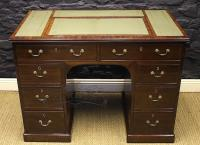 Regency Mahogany Kneehole Desk-regency-mahogany-kneehole-desk-1-thumb