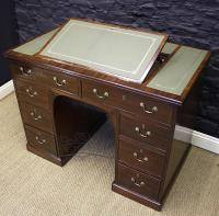 Regency Mahogany Kneehole Desk-regency-mahogany-kneehole-desk-3-thumb