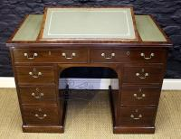Regency Mahogany Kneehole Desk-regency-mahogany-kneehole-desk-5-thumb