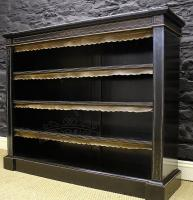 Victorian Ebonised and Gilt Mounted Bookcase-victorian-ebonised-and-gilt-mounted-bookcase-321-thumb