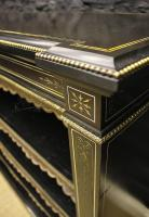 Victorian Ebonised and Gilt Mounted Bookcase-victorian-ebonised-and-gilt-mounted-bookcase-4-thumb