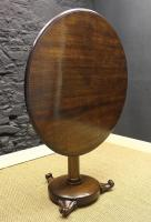 William IV Solid Oak Round Table-william-iv-solid-oak-table-3-thumb